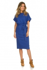 ba&sh |  Midi wrap dress Clare | blue  | Picture 3