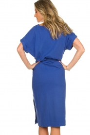 ba&sh |  Midi wrap dress Clare | blue  | Picture 6