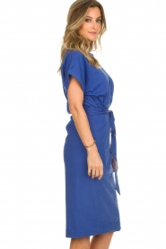 ba&sh |  Midi wrap dress Clare | blue  | Picture 5