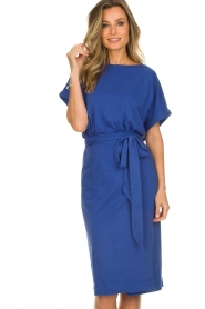 ba&sh |  Midi wrap dress Clare | blue  | Picture 2