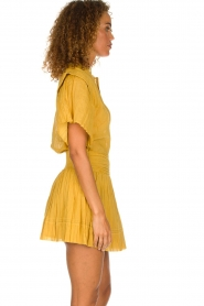 ba&sh |  Ochre yellow blouse Serena | yellow  | Picture 4
