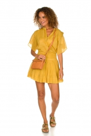 ba&sh |  Ochre yellow blouse Serena | yellow  | Picture 3