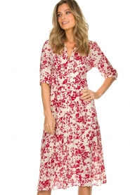 ba&sh |  Floral dress Elfe | natural  | Picture 4