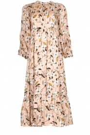 Munthe |  Floral midi dress Dull | nude  | Picture 1
