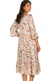 Munthe |  Floral midi dress Dull | nude  | Picture 6