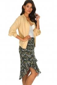 Munthe |  Cardigan with lurex details Drumroll | beige  | Picture 4