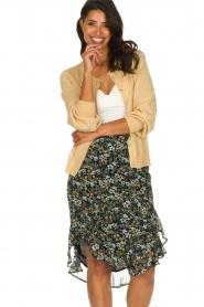 Munthe |  Cardigan with lurex details Drumroll | beige  | Picture 2