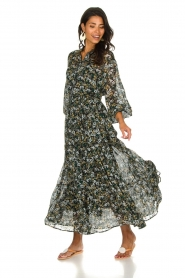 Munthe |  Floral maxi dress Dingo | multi  | Picture 2
