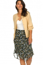 Munthe |  Floral midi skirt Deck | multi  | Picture 4