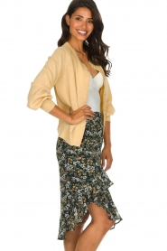 Munthe |  Floral midi skirt Deck | multi  | Picture 5