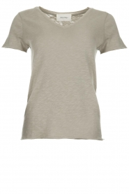 American Vintage |  Cotton T-shirt Sonoma | grey  | Picture 1