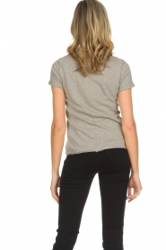 American Vintage |  Cotton T-shirt Sonoma | grey  | Picture 5