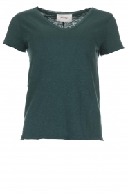 American Vintage |  Cotton T-shirt Sonoma | green  | Picture 1