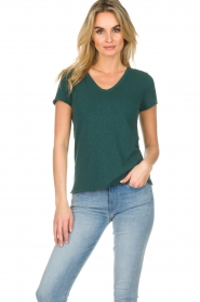 American Vintage |  Cotton T-shirt Sonoma | green  | Picture 2