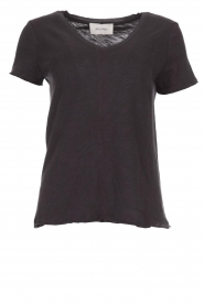 American Vintage |  Cotton T-shirt Sonoma | dark grey  | Picture 1