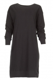 American Vintage | Katoenen basic jurk Sonoma | donkergrijs  | Afbeelding 1