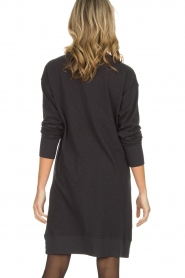American Vintage | Katoenen basic jurk Sonoma | donkergrijs  | Afbeelding 5