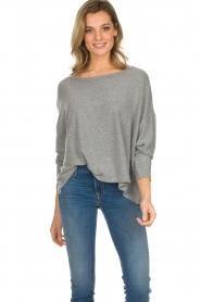 American Vintage |  Basic sweater Vetington | grey  | Picture 2