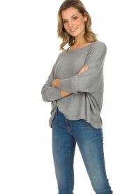 American Vintage |  Basic sweater Vetington | grey  | Picture 5