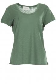 American Vintage |  Basic T-shirt Jacksonville | green  | Picture 1