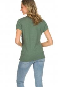 American Vintage | Basic T-shirt Jacksonville | groen  | Afbeelding 5