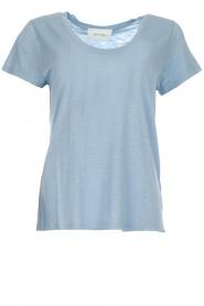 American Vintage |  Basic T-shirt Jacksonville | light blue  | Picture 1