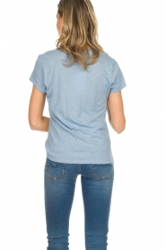 American Vintage |  Basic T-shirt Jacksonville | light blue  | Picture 5