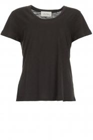 American Vintage | Basic T-shirt Jacksonville | donkergrijs  | Afbeelding 1
