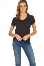 American Vintage | Basic T-shirt Jacksonville | donkergrijs  | Afbeelding 3