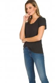 American Vintage | Basic T-shirt Jacksonville | donkergrijs  | Afbeelding 5
