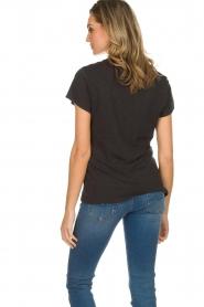 American Vintage | Basic T-shirt Jacksonville | donkergrijs  | Afbeelding 6