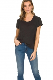 American Vintage |  Basic T-shirt Jacksonville | dark grey  | Picture 2