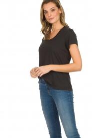 American Vintage | Basic T-shirt Jacksonville | donkergrijs  | Afbeelding 4
