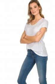 American Vintage |  Basic T-shirt Jacksonville | white  | Picture 4