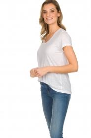 American Vintage |  Basic T-shirt Jacksonville | white  | Picture 3