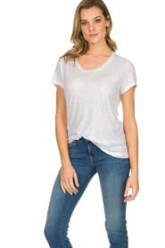 American Vintage |  Basic T-shirt Jacksonville | white  | Picture 2