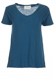 American Vintage |  Basic T-shirt Jacksonville | blue  | Picture 1