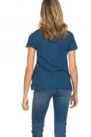 American Vintage |  Basic T-shirt Jacksonville | blue  | Picture 6