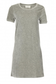 American Vintage |  Velvet dress Isacboy | grey  | Picture 1