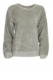 Velvet sweater Isacboy | grey