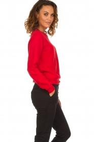 American Vintage |  Sweater Kinouba | red  | Picture 4