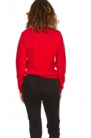 American Vintage |  Sweater Kinouba | red  | Picture 5