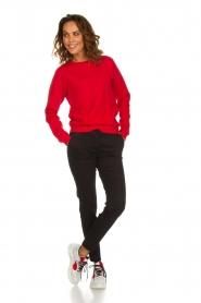 American Vintage |  Sweater Kinouba | red  | Picture 3