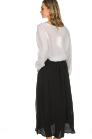 American Vintage |  Maxi skirt Nonogarden | black  | Picture 5