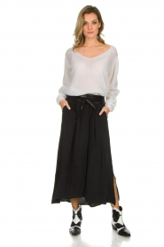 American Vintage |  Maxi skirt Nonogarden | black  | Picture 3