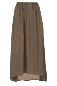 American Vintage |  Maxi skirt Nonogarden | green  | Picture 1