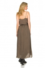American Vintage |  Maxi skirt Nonogarden | green  | Picture 5