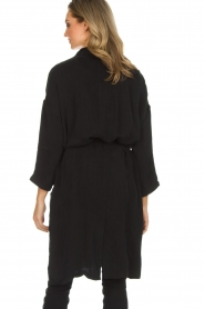 American Vintage |  Wrap coat Meadow | black  | Picture 5