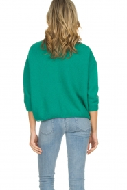 American Vintage |  Knitted sweater Vikiville | green  | Picture 6
