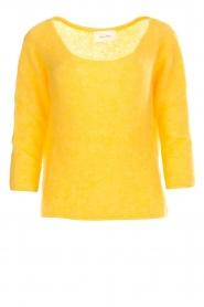American Vintage | Gebreide trui Woxilen | geel  | Afbeelding 1